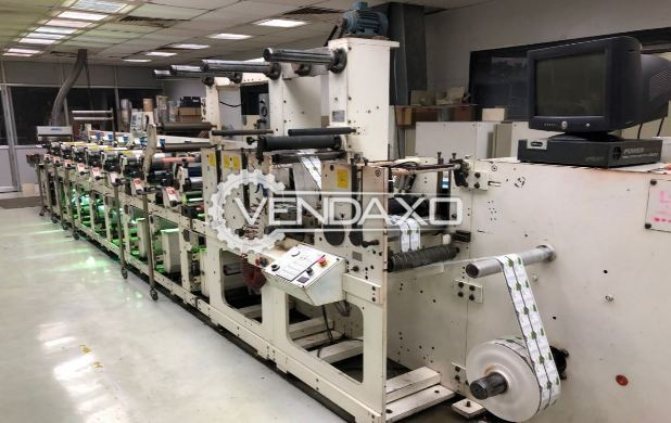 Omet FX 330 Flexo Printing Machine - Size - 13 Inch, 8 Color