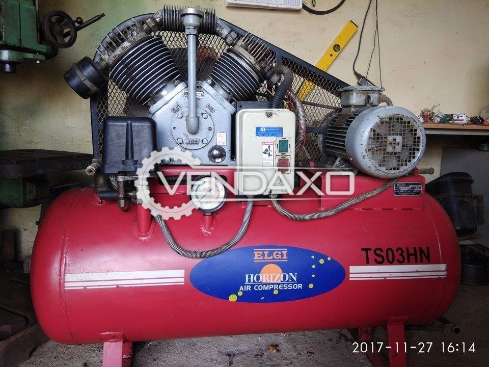 Elgi TS-03-HN Air Compressor - 3 HP