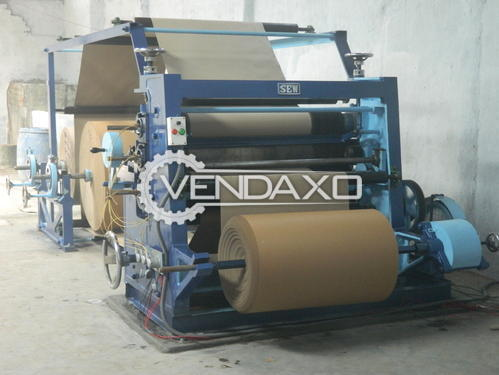 Ajanta Make High Speed Corrugation Narrow Machine - 52 Inch, 2016 Model
