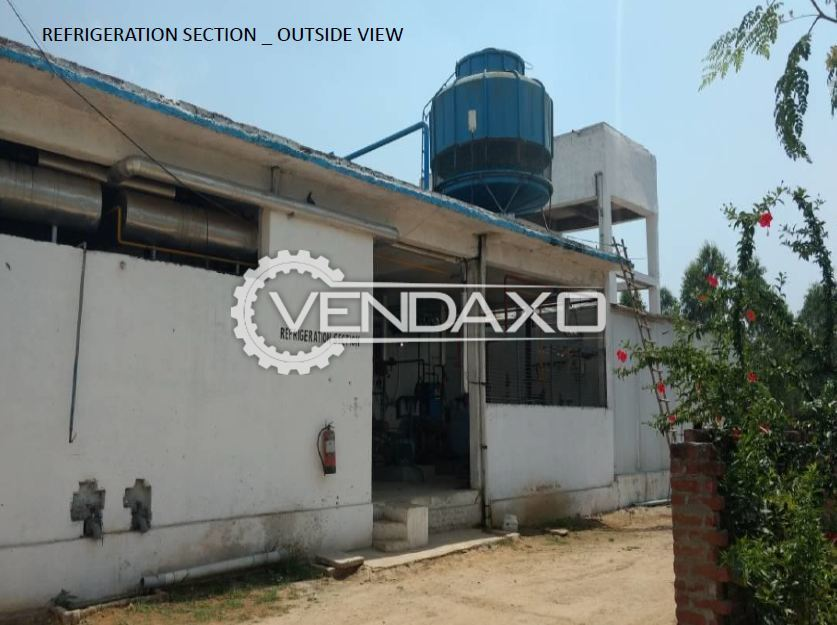 Available For Sale Refrigeration Setup With Kirloskar Compressor