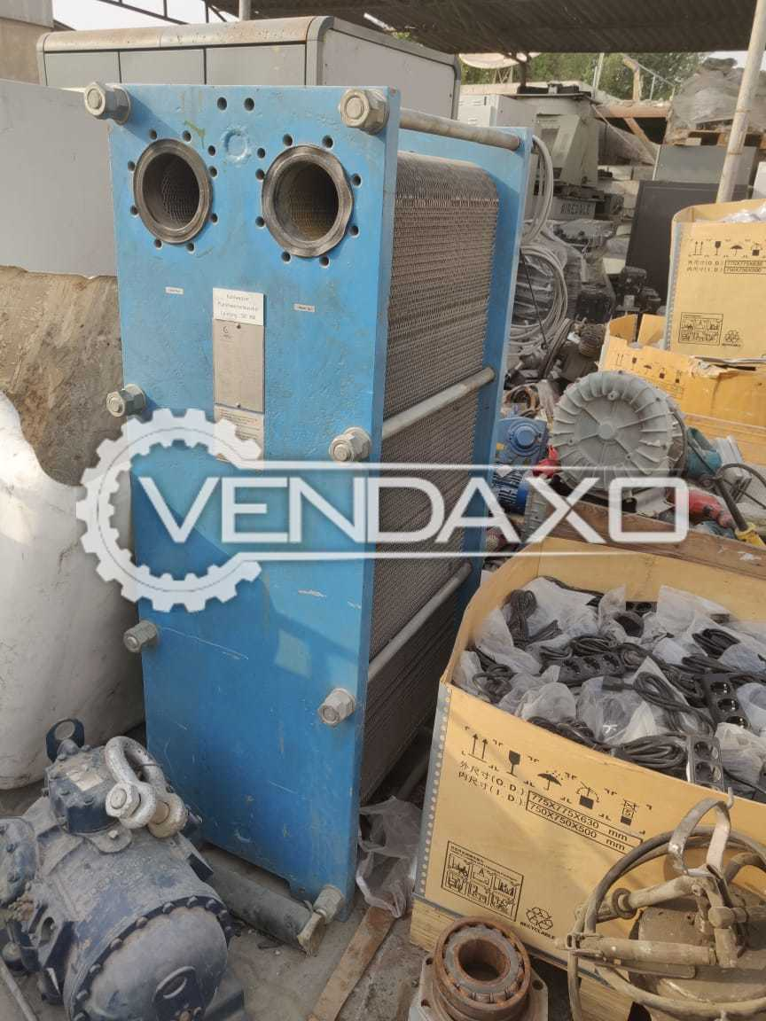 GEA VT 40 Heat Exchanger - 300 KW, 1990 Model