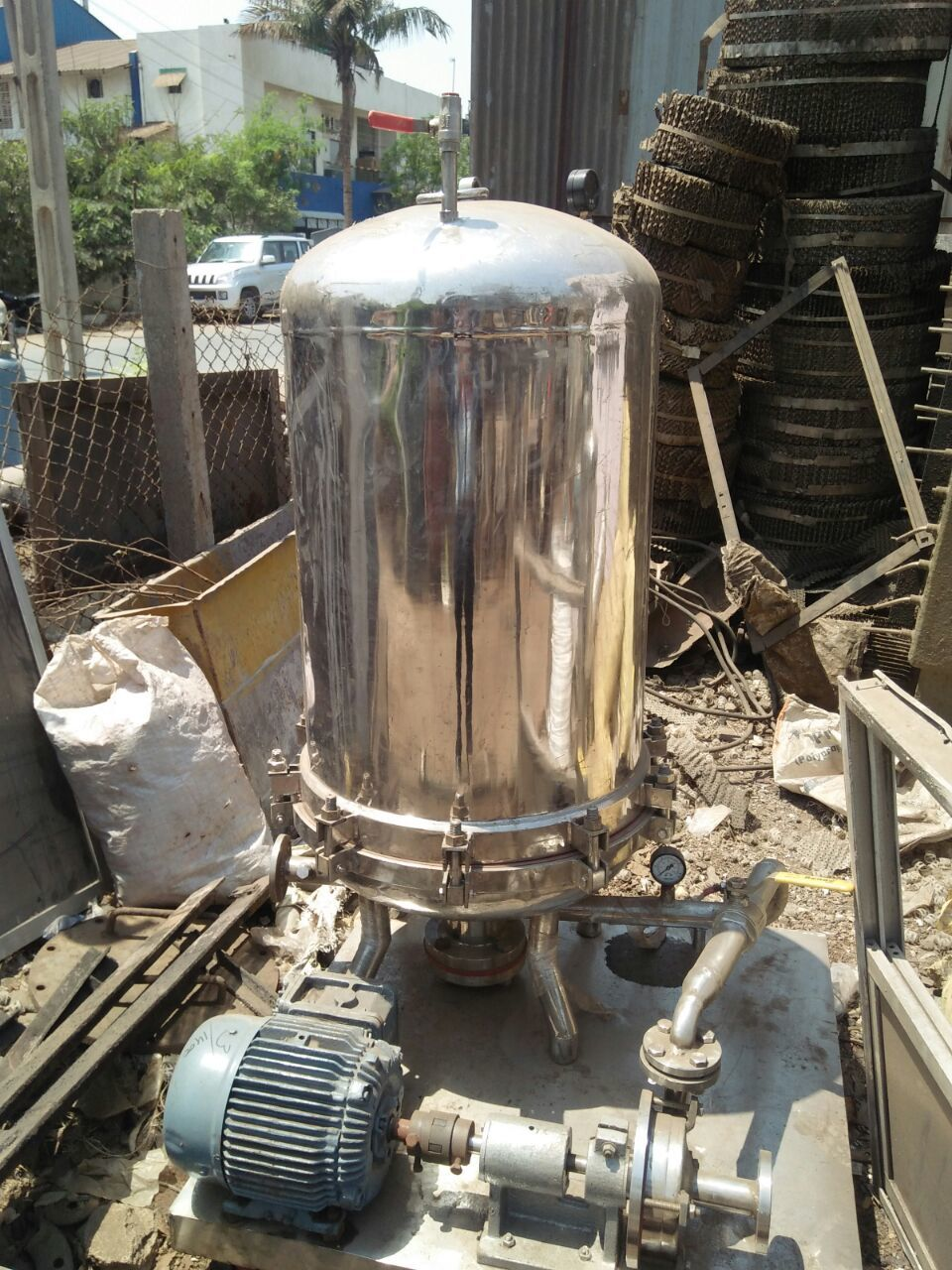 Sparkle Filter With Motor - 18 inch