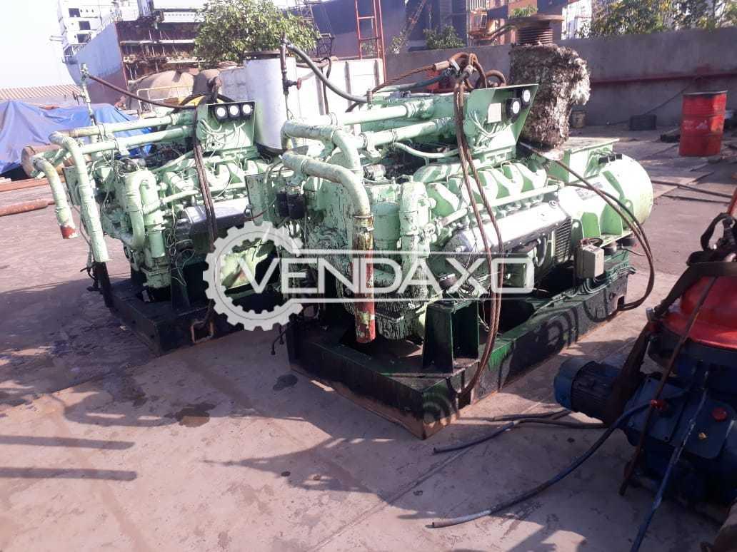 AVK DSG52M0-4 Diesel Generator - 300 kVA, 1996 Model