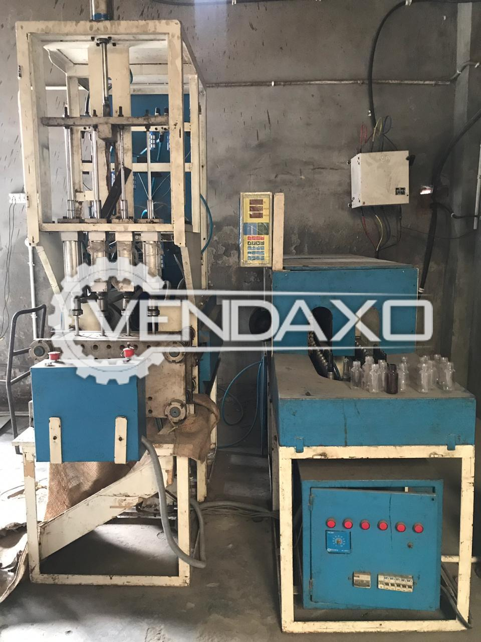 Used Available For Sale Pet Blow Moulding Plant - 50 ML to 1 5 Liter