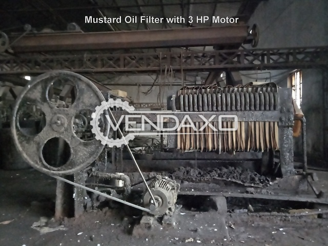 Available For Sale Automatic Mustard Oil Mill Plant - 8 MT Per Day