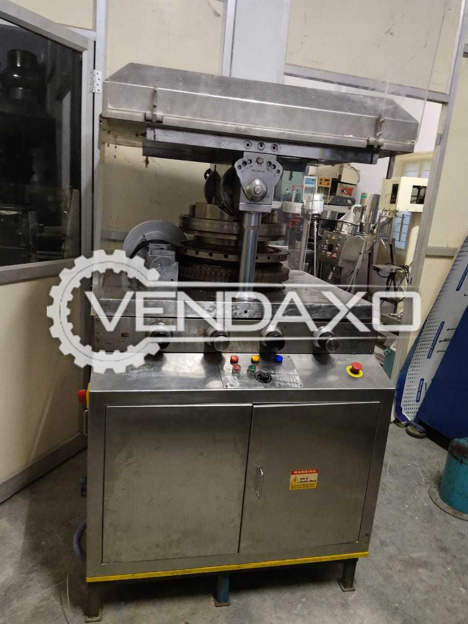 Karnavati Make GMP D Tooling Pharma Tablet Machine - 27 Station