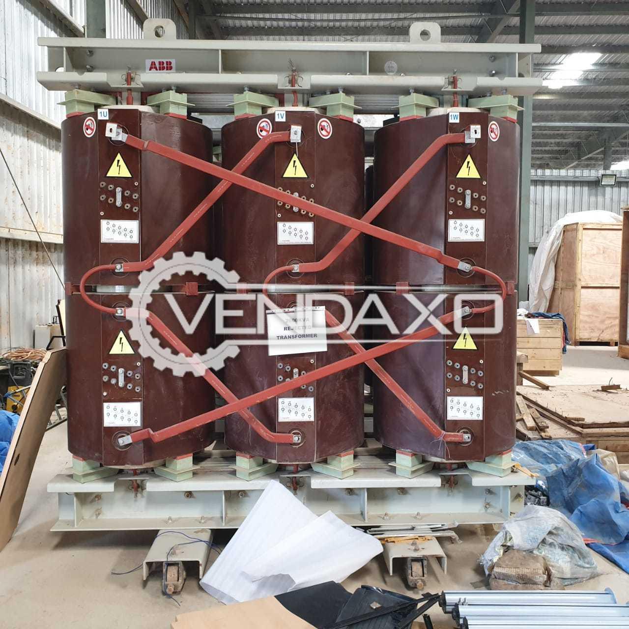 3 Set OF ABB Transformers - 2500 Kva