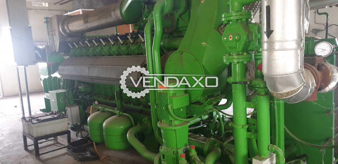 Used Jenbacher J 420 GS Gas Engine - Power - 1500 KW for