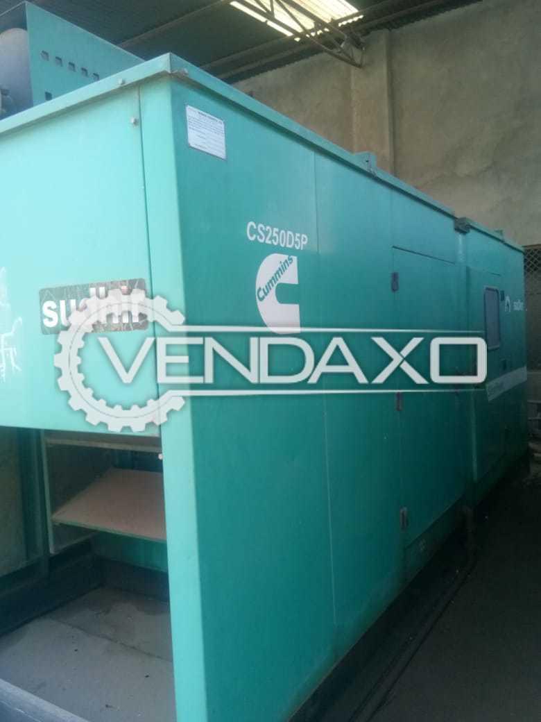 Cummins Diesel Generator - 250 Kva