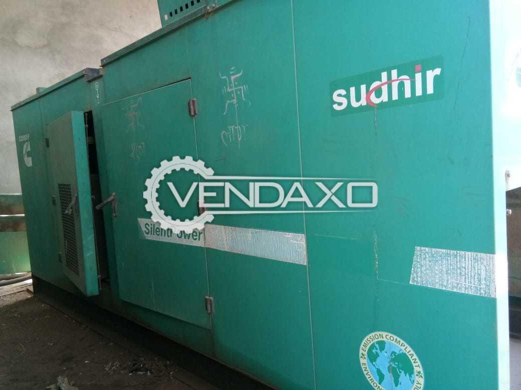 Cummins Diesel Generator - 200 Kva