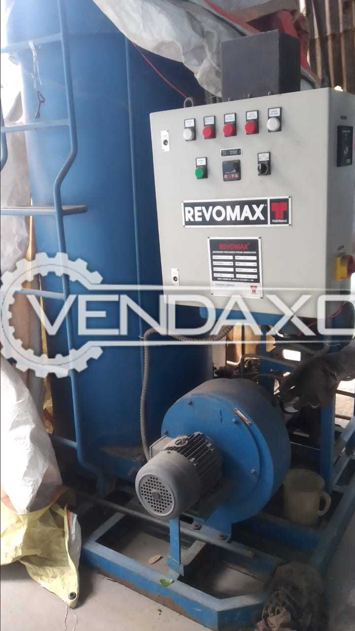 Revomax Oil Fired Steam Boiler - 500 kg/hr