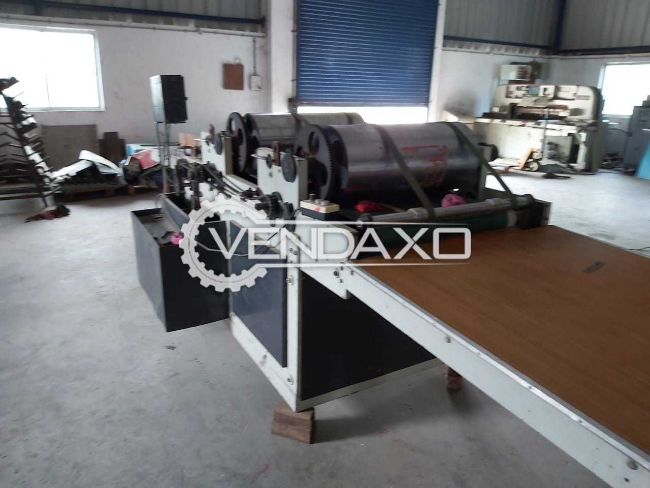 Flexo Printing Machine - Size - 25 x 37 Inch, 2 Color