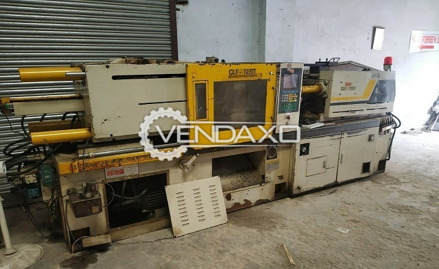 Used Taiwan Make CLF-125T Injection Moulding Machine - 125
