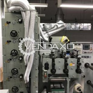 Flexo Label Printing Machine - Size - 330 mm + 6 UV Light Unit