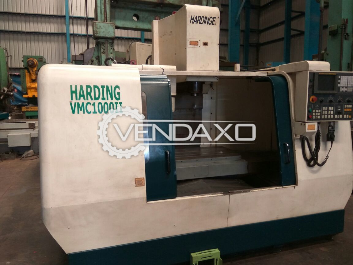 Hardinge 1000-II Vertical Machining Center