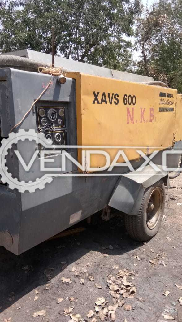 Used Atlas Copco CM341 XVA600 Drill Machine - 15 Bar With