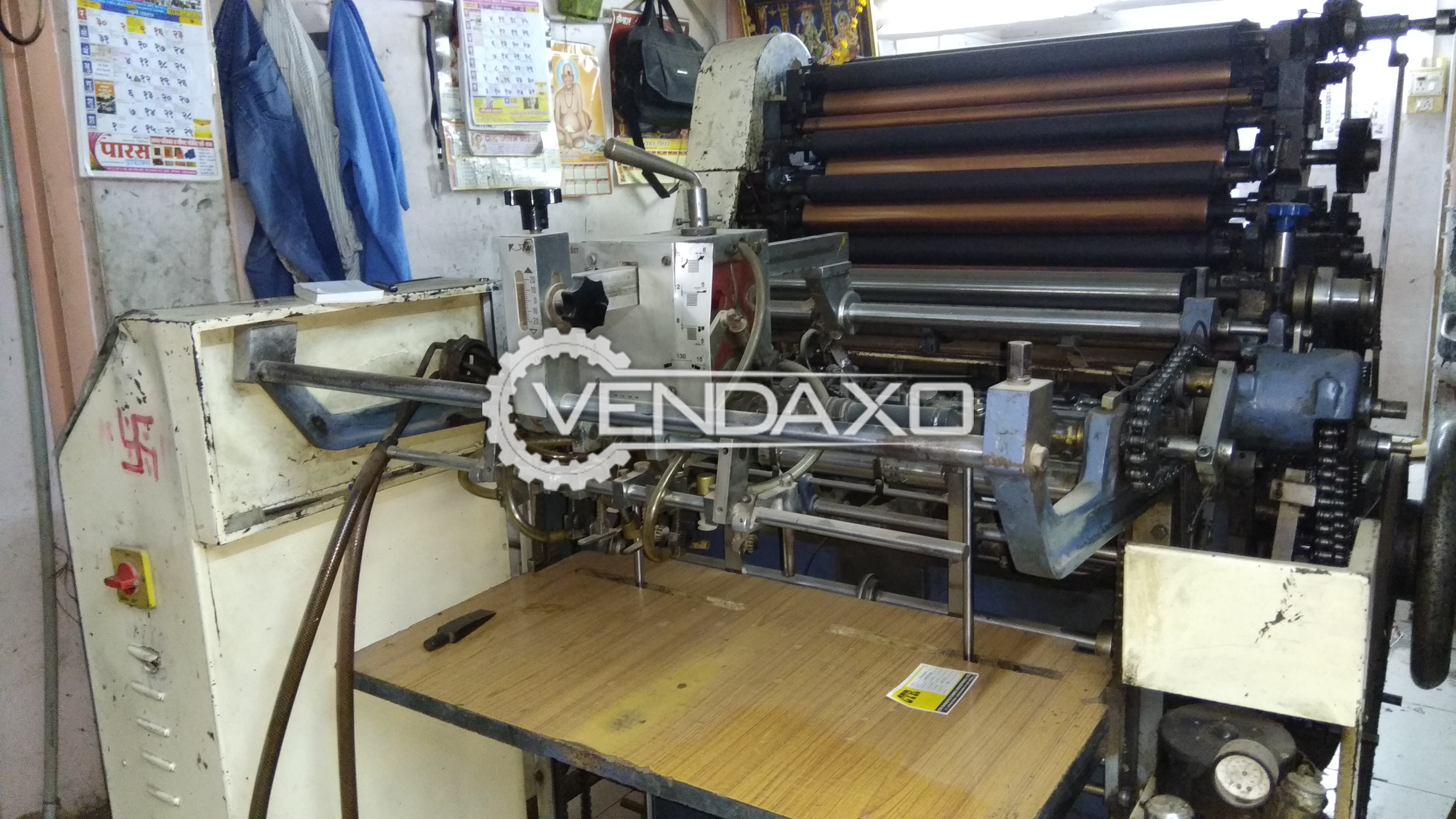 Used Optima 128 Single Color Offset Printing Machine
