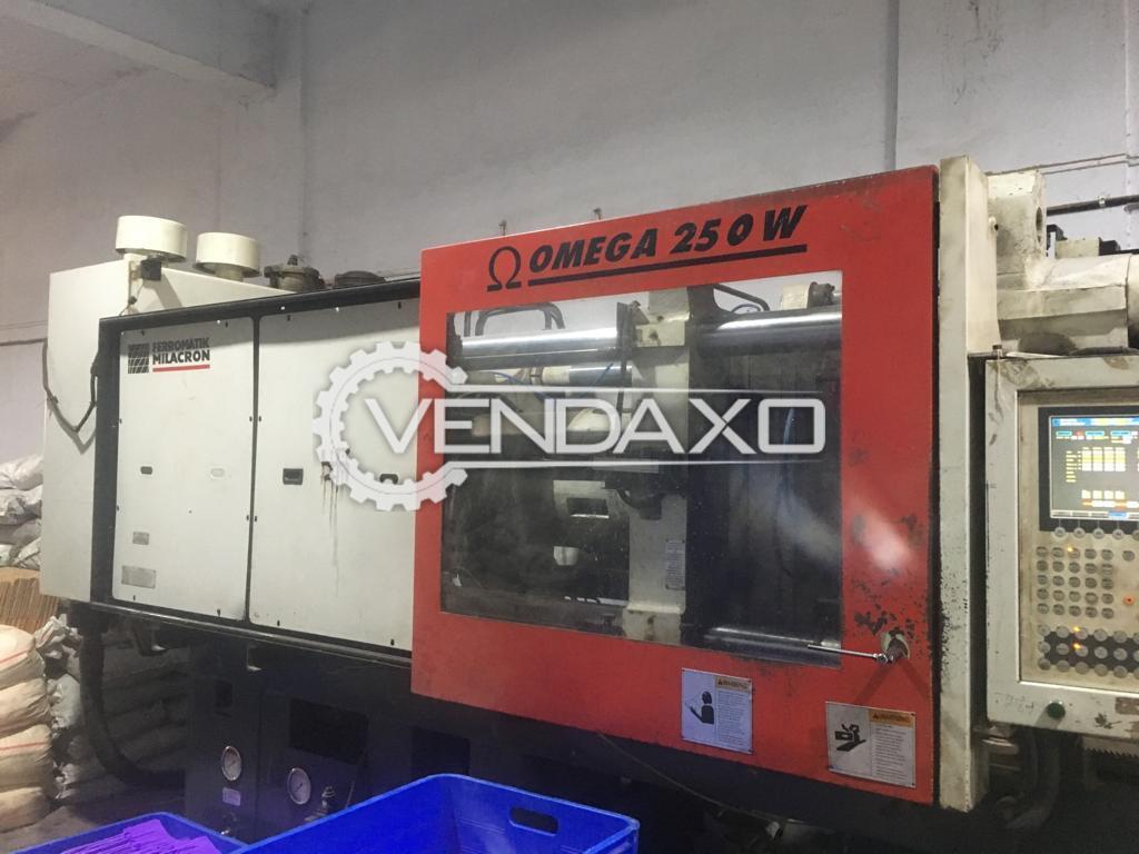 Ferromatik Milacron OMEGA 250W Injection Moulding Machine - 250 Ton