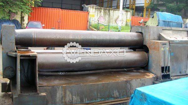 Backtemans 3-Roll Plate Bending Machine