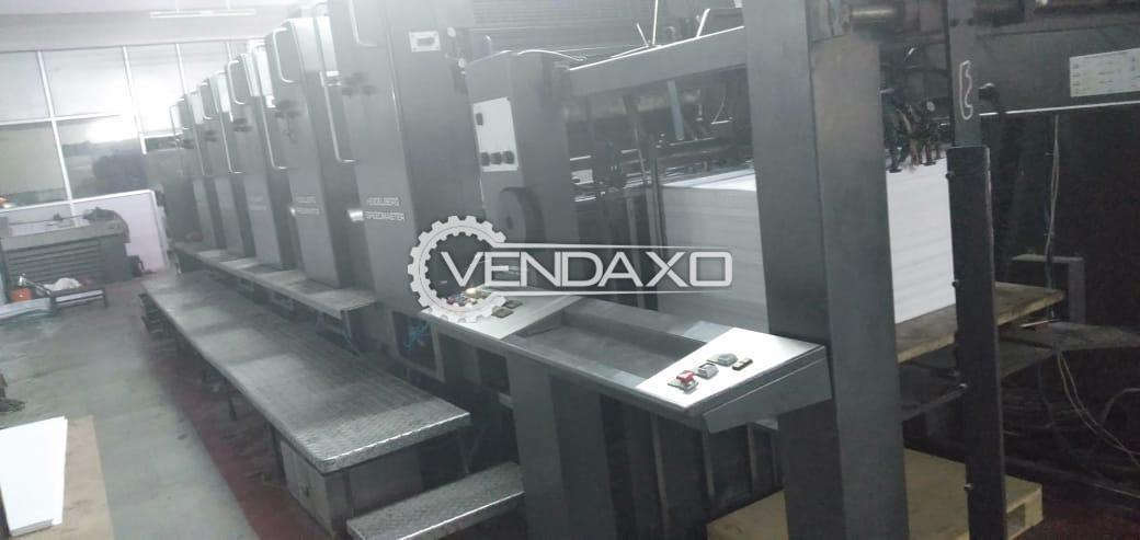 Heidelberg SM 102F Offset Printing Machine - 28 x 40 Inch, 5 Color