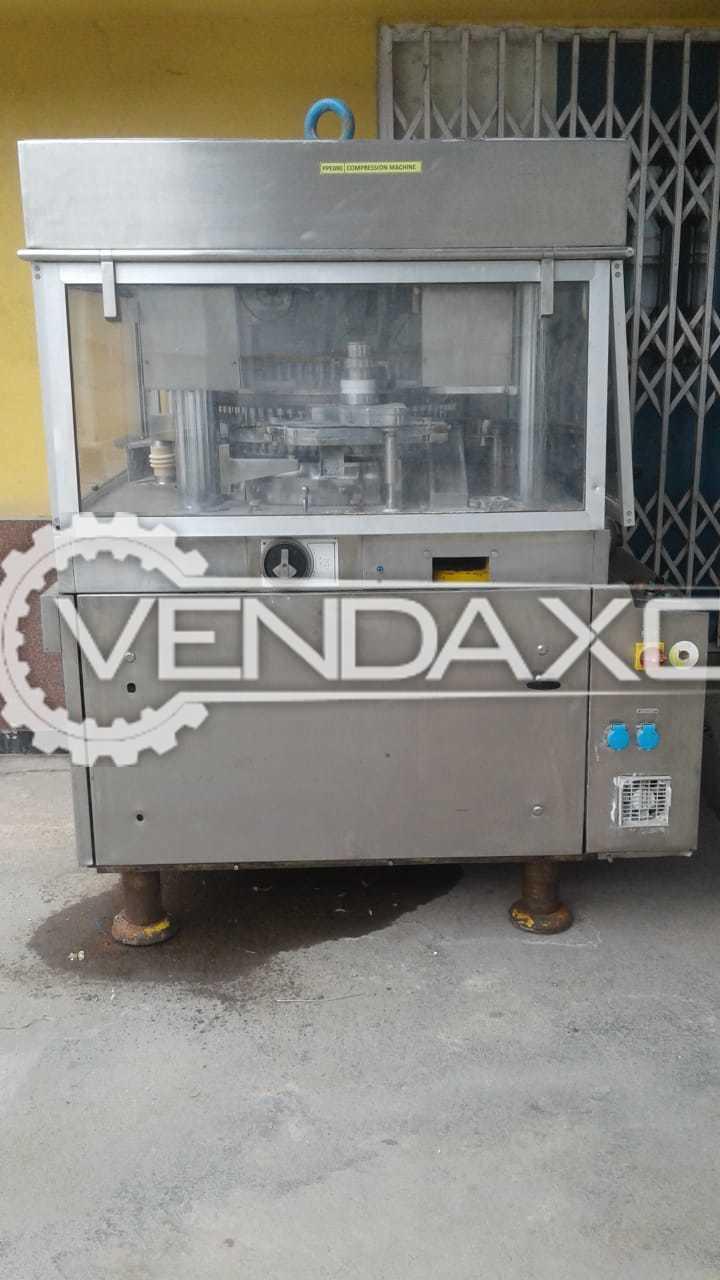 Cadmach Make IV Tablet Press Machine - 75 Station