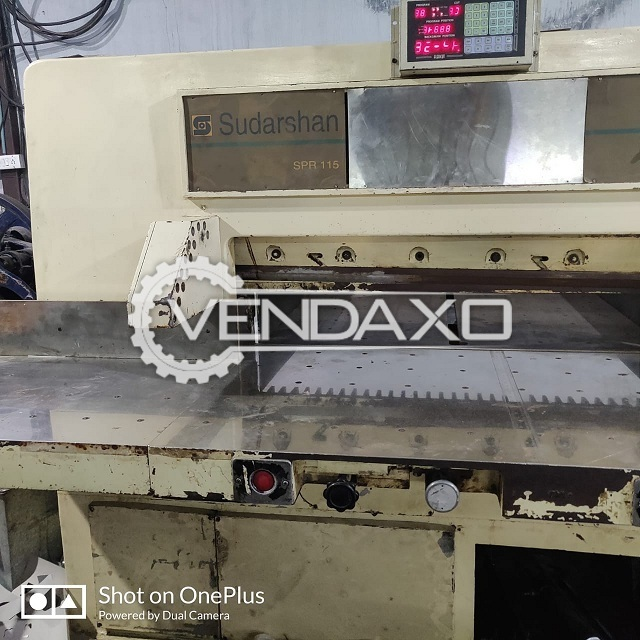 Paper Cutting Machine - 32 Inch With UV Lamp, IR Dryer