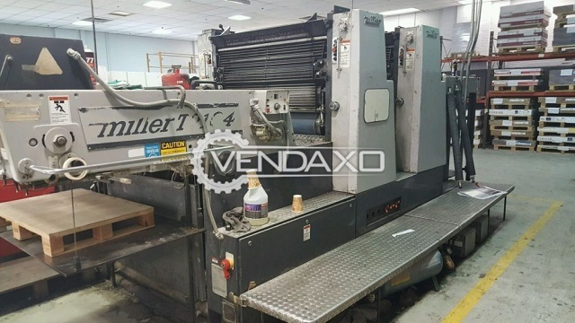 Miller TP 104 Offset Printing Machine - Size - 28 x 40 Inch, 2 Color