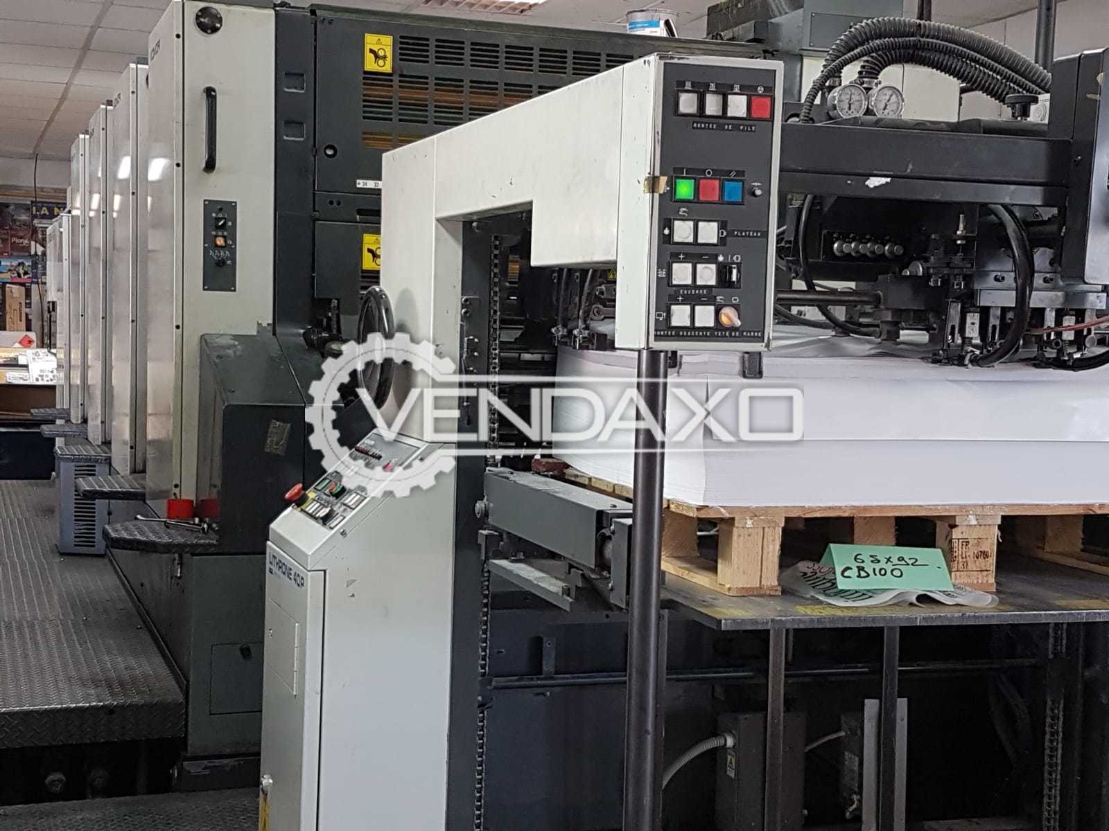 Komori Lithrone 440 Offset Printing Machine - Size - 28 x 40 Inch, 4 Color