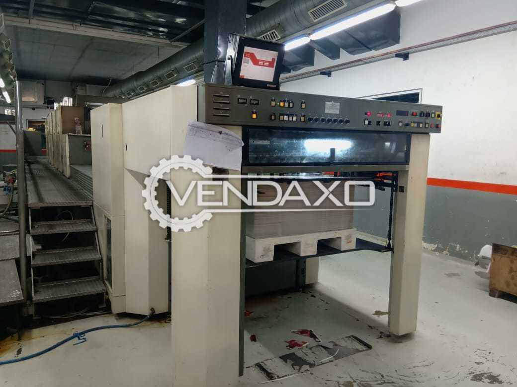 Komori Lithrone 540 LX Offset Printing Machine - 28 x 40 Inch, 5 Color