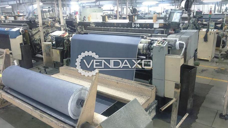 3 Set OF Picanol Omni Plus Loom Machine - Width - 190 CM, 2003 Model