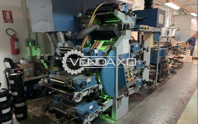 Taiyo TLC 250-6 Label Printing Machine - Size - 260 mm, 6 Color