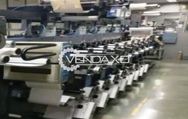 Gallus EM 280-8 Flexo Printing Machine - Size - 11 Inch, 8 Color
