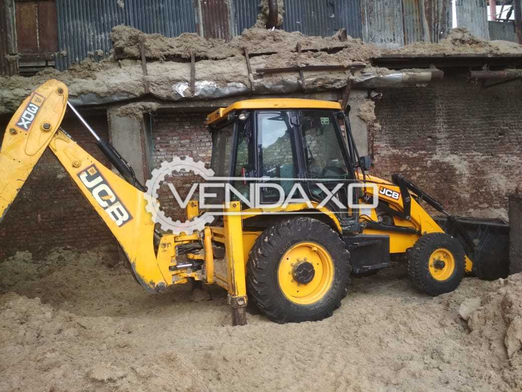 JCB 3DX Backhoe Loader - Engine Power - 92 HP