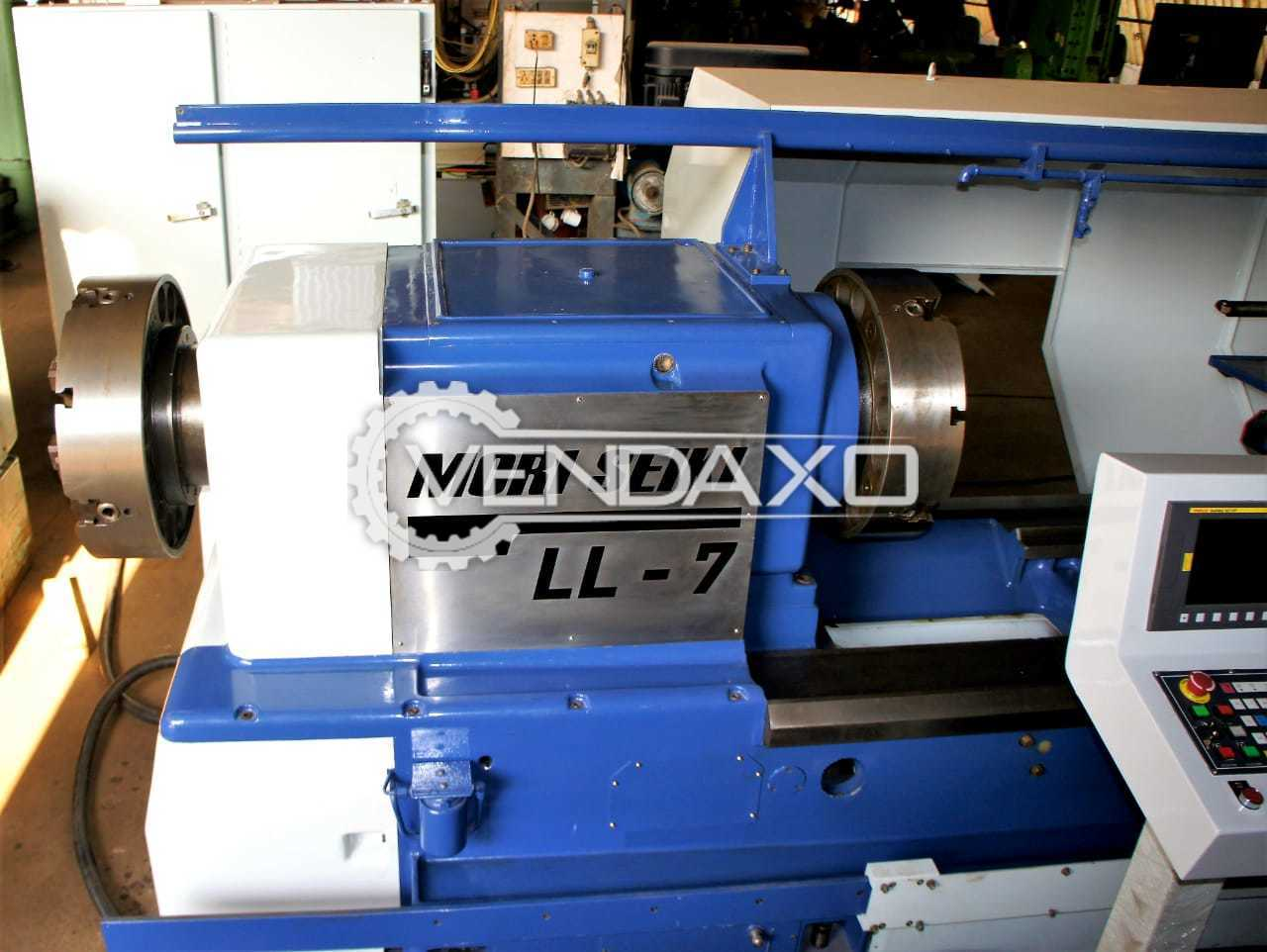 Used Mori Seiki LL7 CNC Oil Country Lathe Machine - Chuck