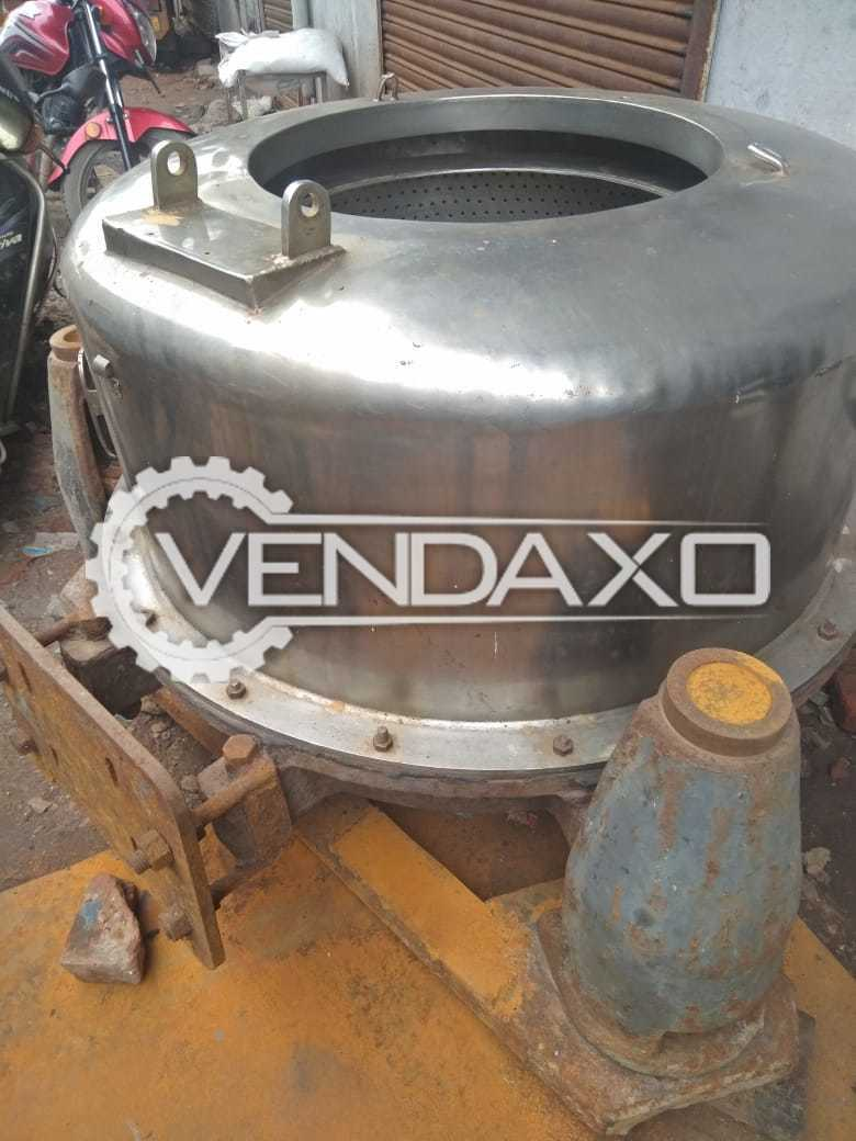 SS 316 Centrifuge With Motor - Size : 36 Inch