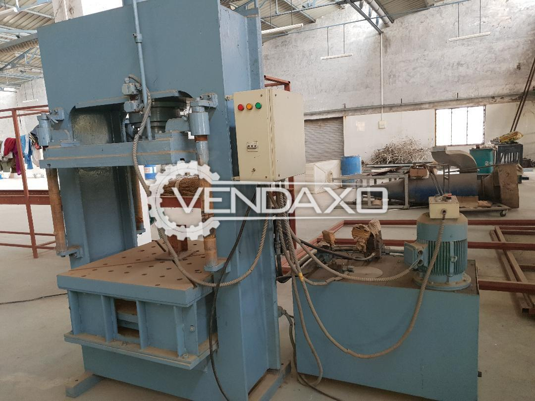 Used Servimec Hydraulic Power Press - 150 Ton, 2015 Model