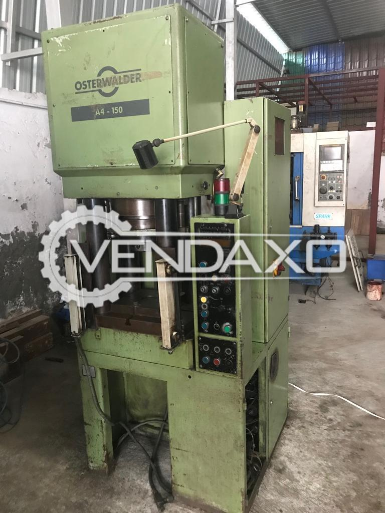 Used Osterwalder Make Compact Precise Hydraulic Press