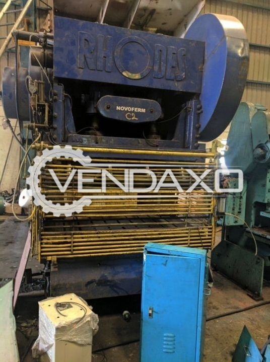 Rhodes C Type Power Press - 160 Ton