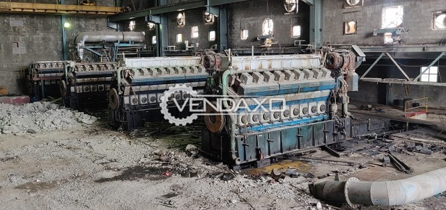 Available For Sale 5 Set OF Wartsila Engines and Spares - 3 MW & 5 MW