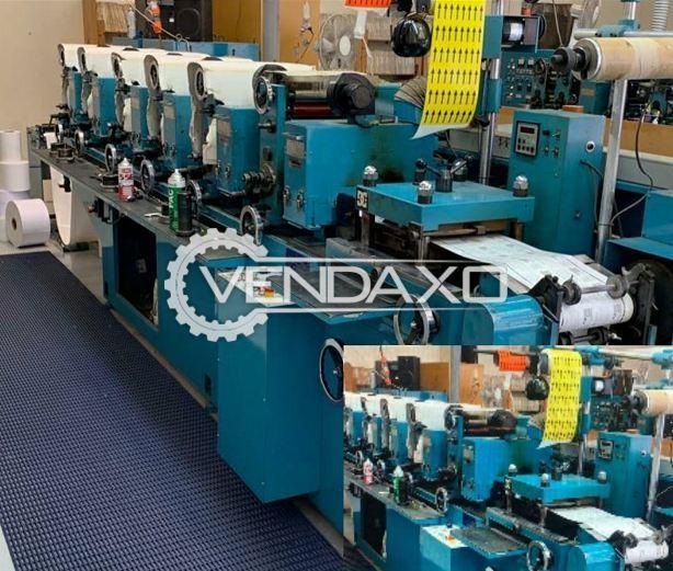 Hikari Label Printing Machine - Size - 265 mm, 6 Color