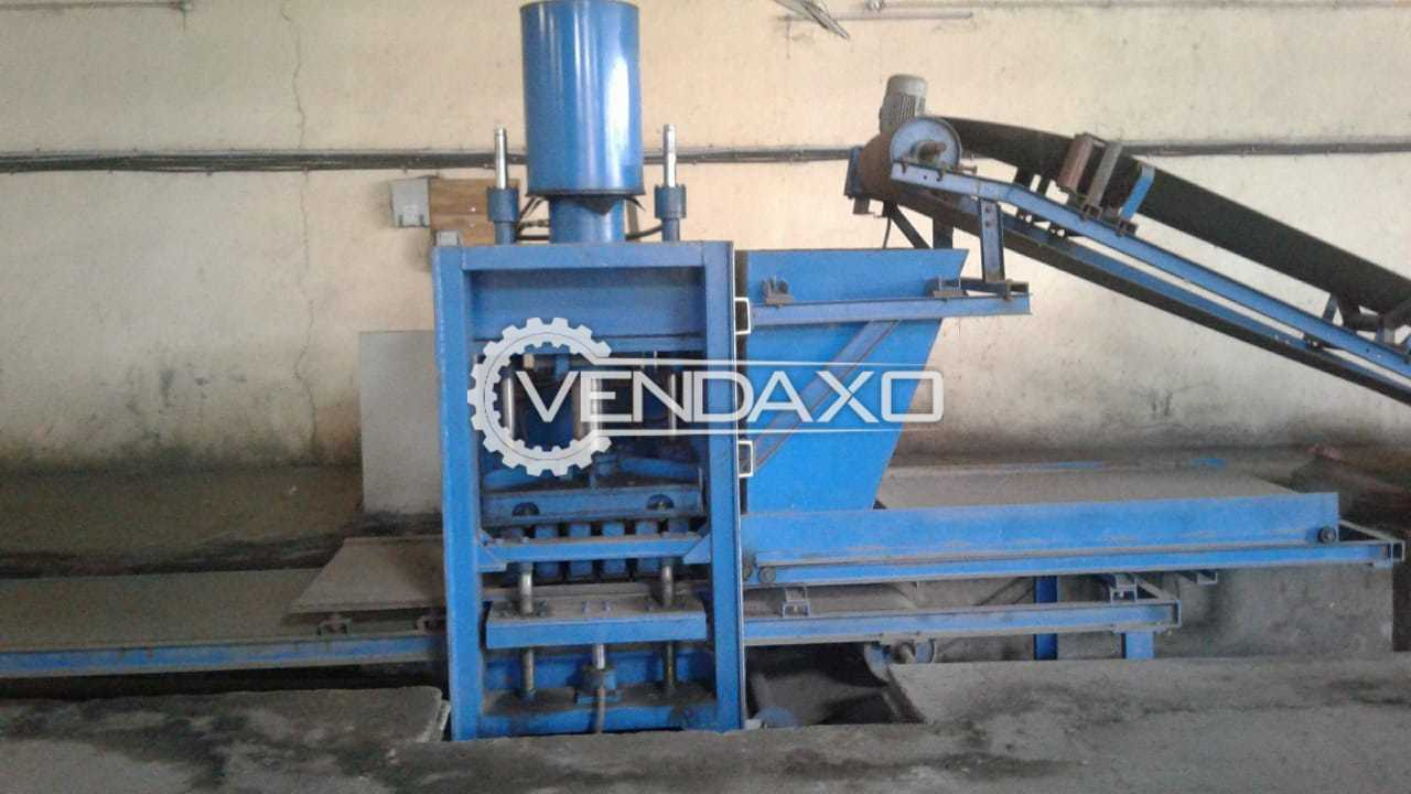 Fully Automatic Flyash Brick Making Machinery Plant - 3000 to 3500 Bricks Per Hour
