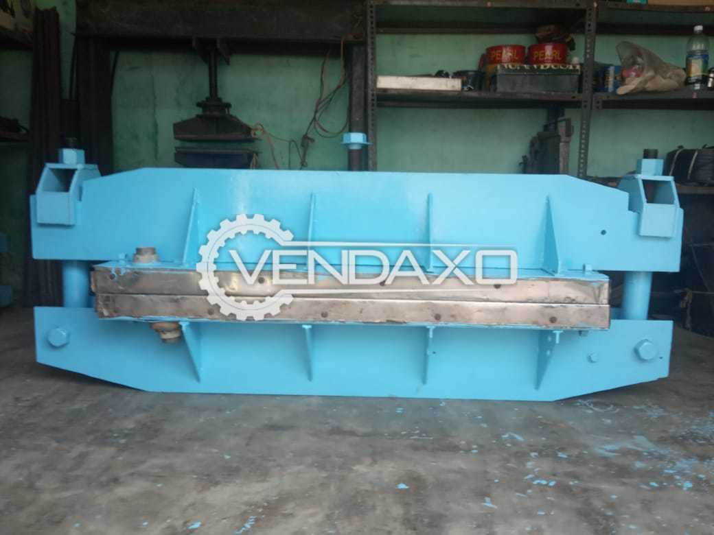 Rubber Belt Vulcanizing Machine - 1200 x 400 mm