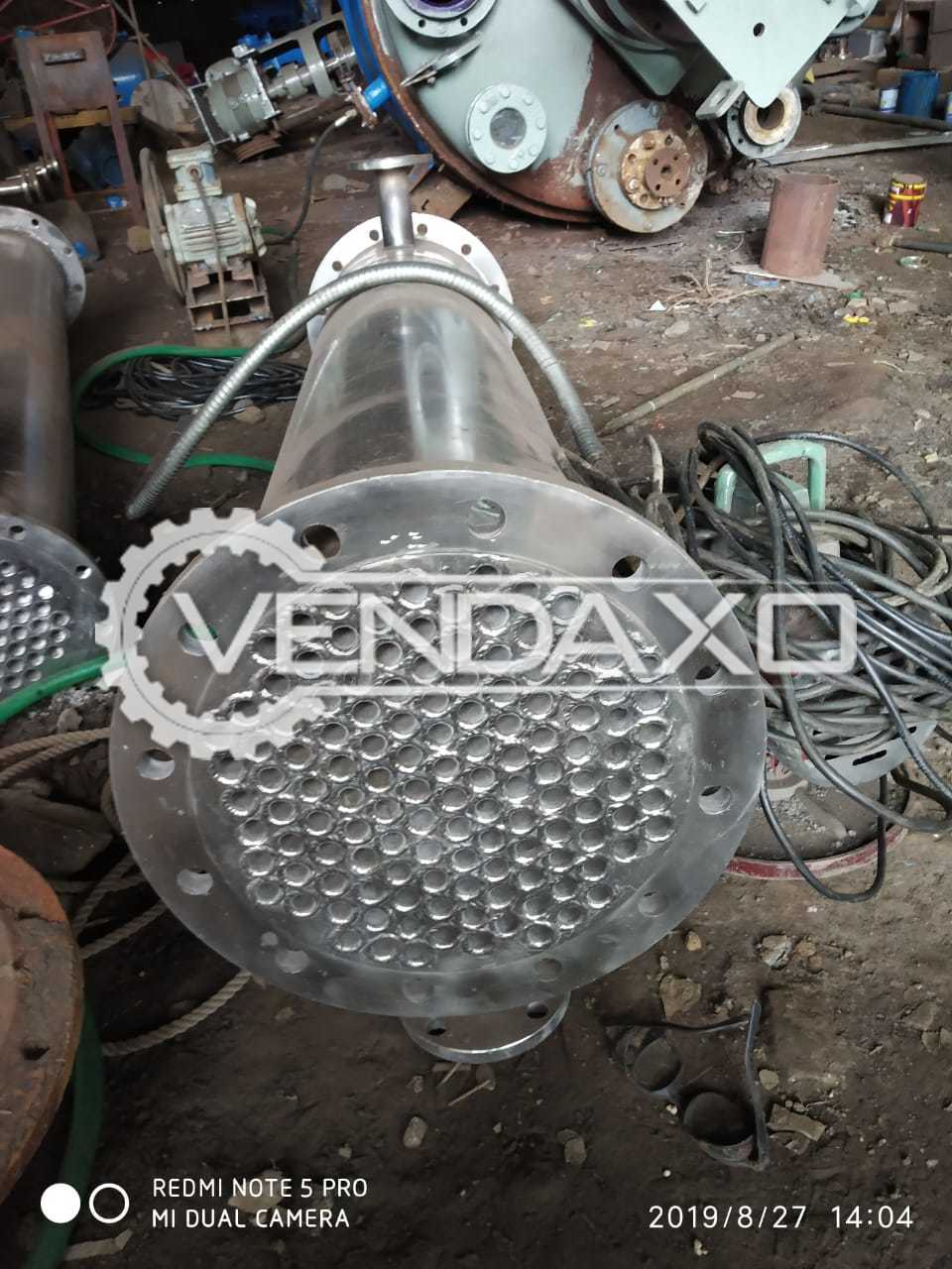 Indian Make SS 316 New Condenser - 12 Meter Square
