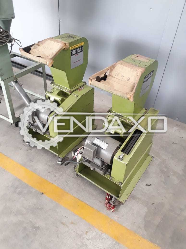 Available For Sale 2 Set OF Plastic Crusher - No 5 & No 6 Model