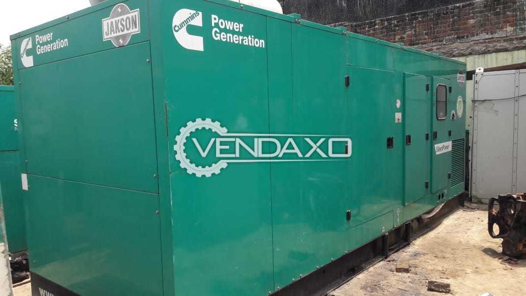 Cummins Diesel Generator - 400 Kva, 2014 Model