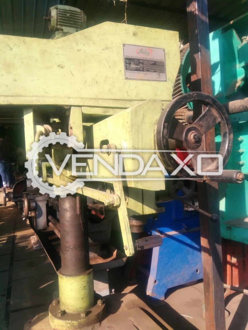India Brand Radial & Pillar Type Drill Machine - 40 MM
