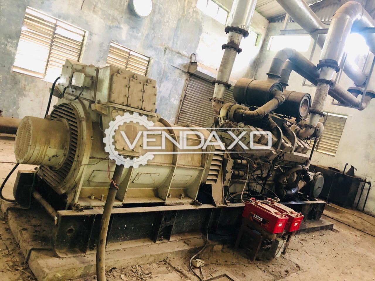Cummins KTA 30876  Diesel Generator - 1000 Kva