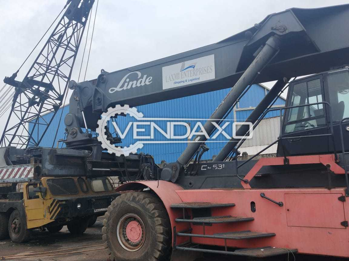Available For Sale Linde Make Reach Stacker Spare TLC Crane - 2009 Model