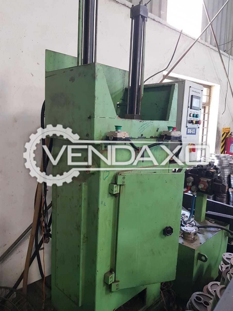 Indian Make Pull Broaching Machine - 2 Station