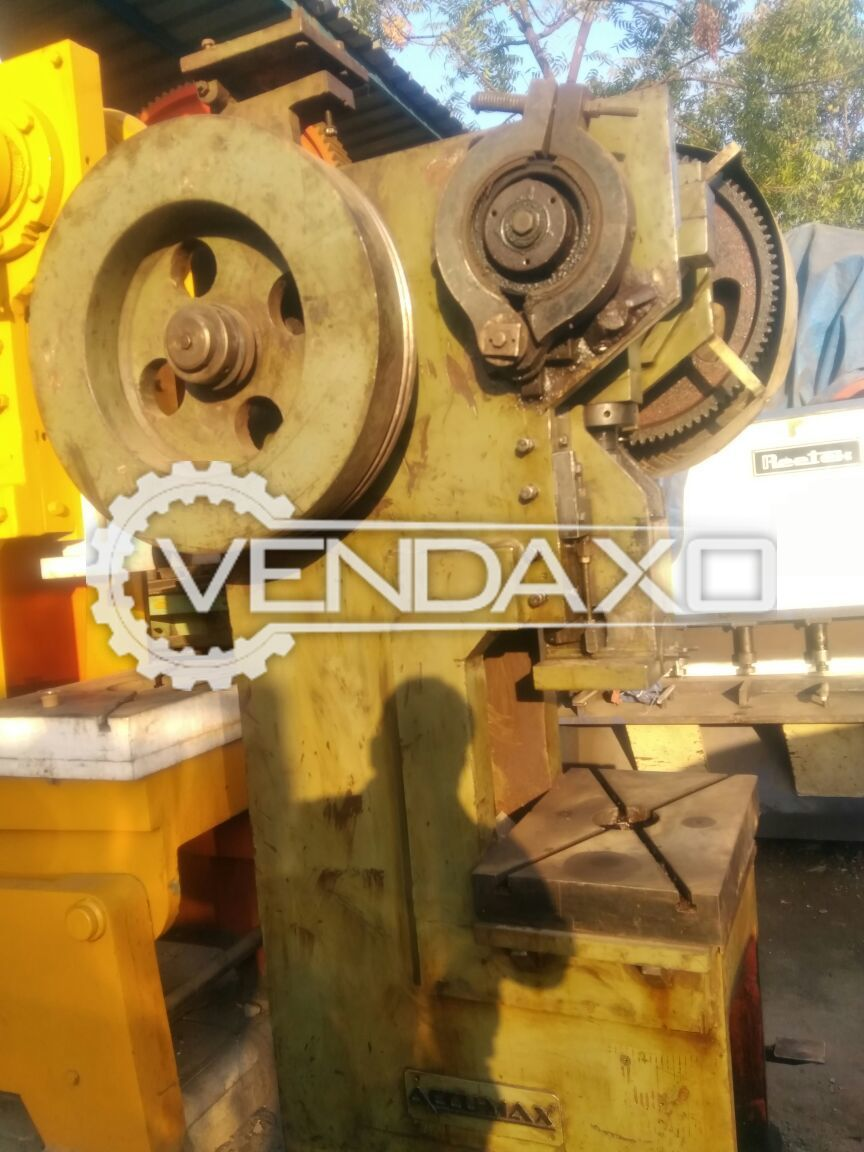 Accumax Double Gear Power Press - 50 Ton